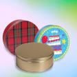 Round Cookie Tins