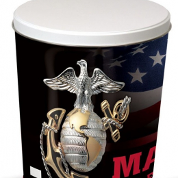 US FORCES   3 Gallon United States Marines Tins