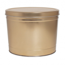 Gold 2 Gallon Popcorn Tin - SOLD OUT