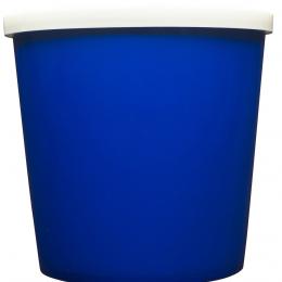 Blue Plastic Tub