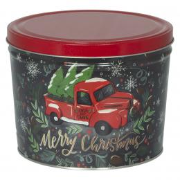Tree Farm Truck 2 Gallon Popcorn Tin - SOLD OUT