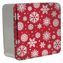 2 SQ 210 Red with Snowflakes