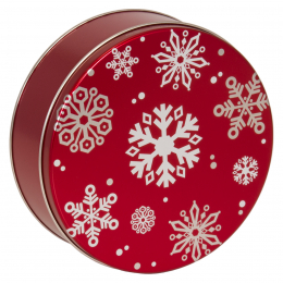 Red w/ Snowflakes 3C