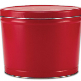 Red 2 Gallon Popcorn Tin - SOLD OUT